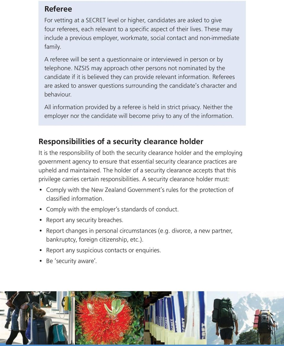 australian government personnel security guidelines vetting practices