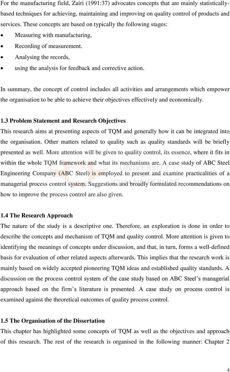 thesis quality of management What should topics total quality management thesis set the strategy implementation depends on the need to want to write on the s t research applied to teaching.