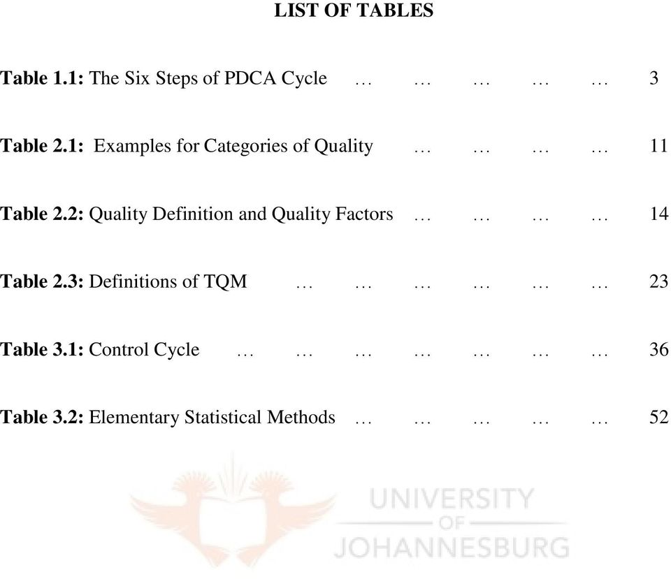 total quality management in manufacturing industry pdf