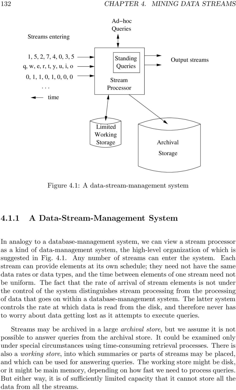 A data-stream-management system 4.1.