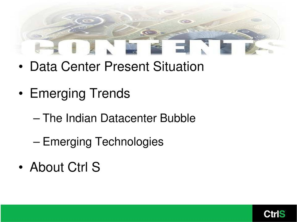The Indian Datacenter