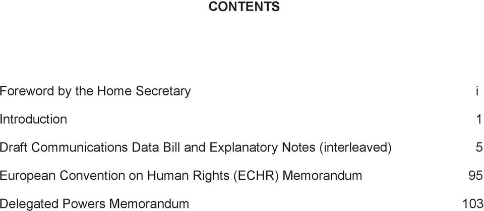 Notes (interleaved) 5 European Convention on Human