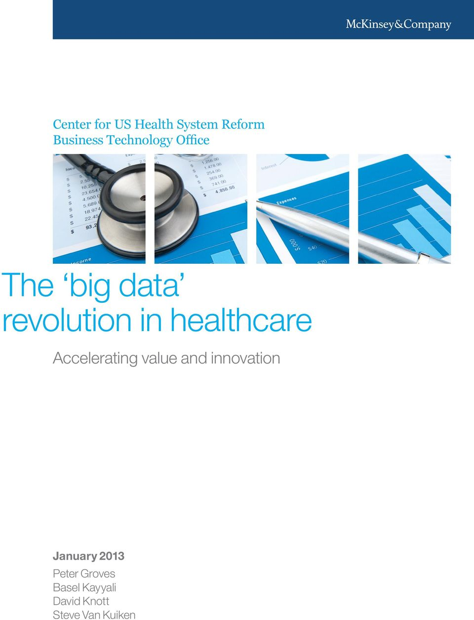 healthcare Accelerating value and innovation