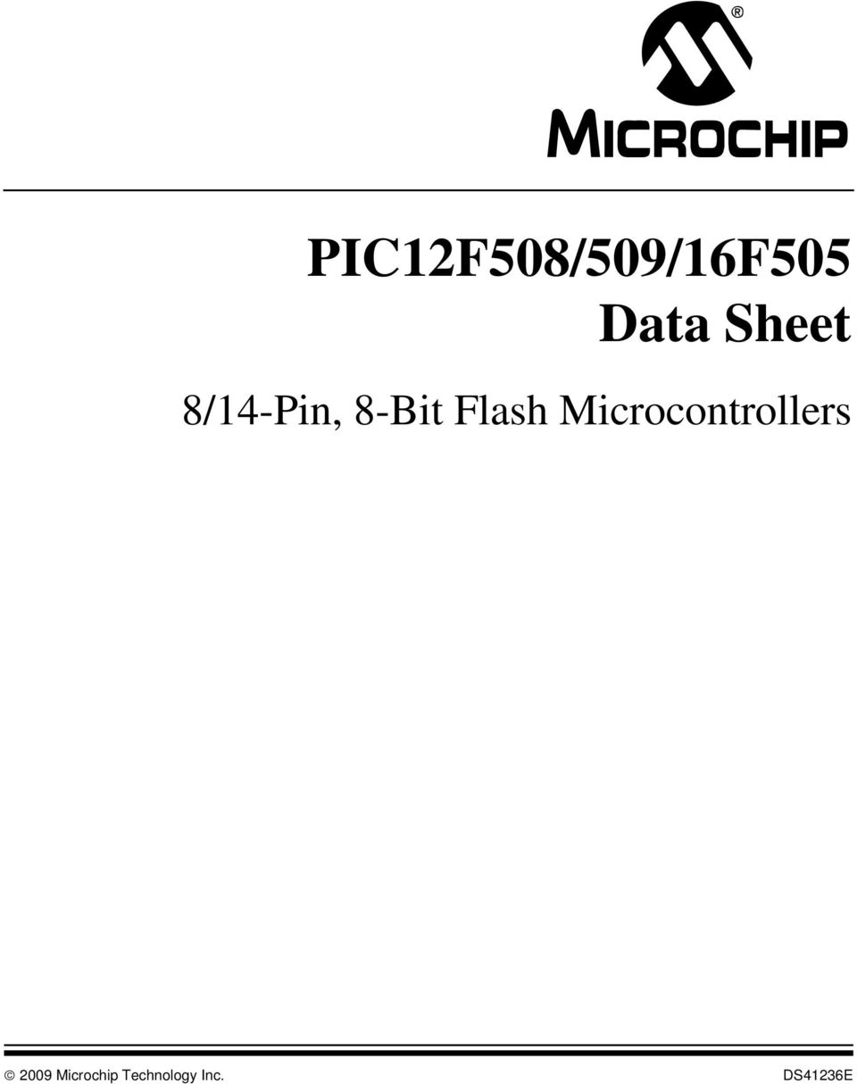 Microcontrollers 2009