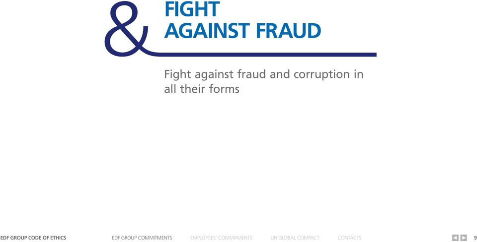 against fraud and