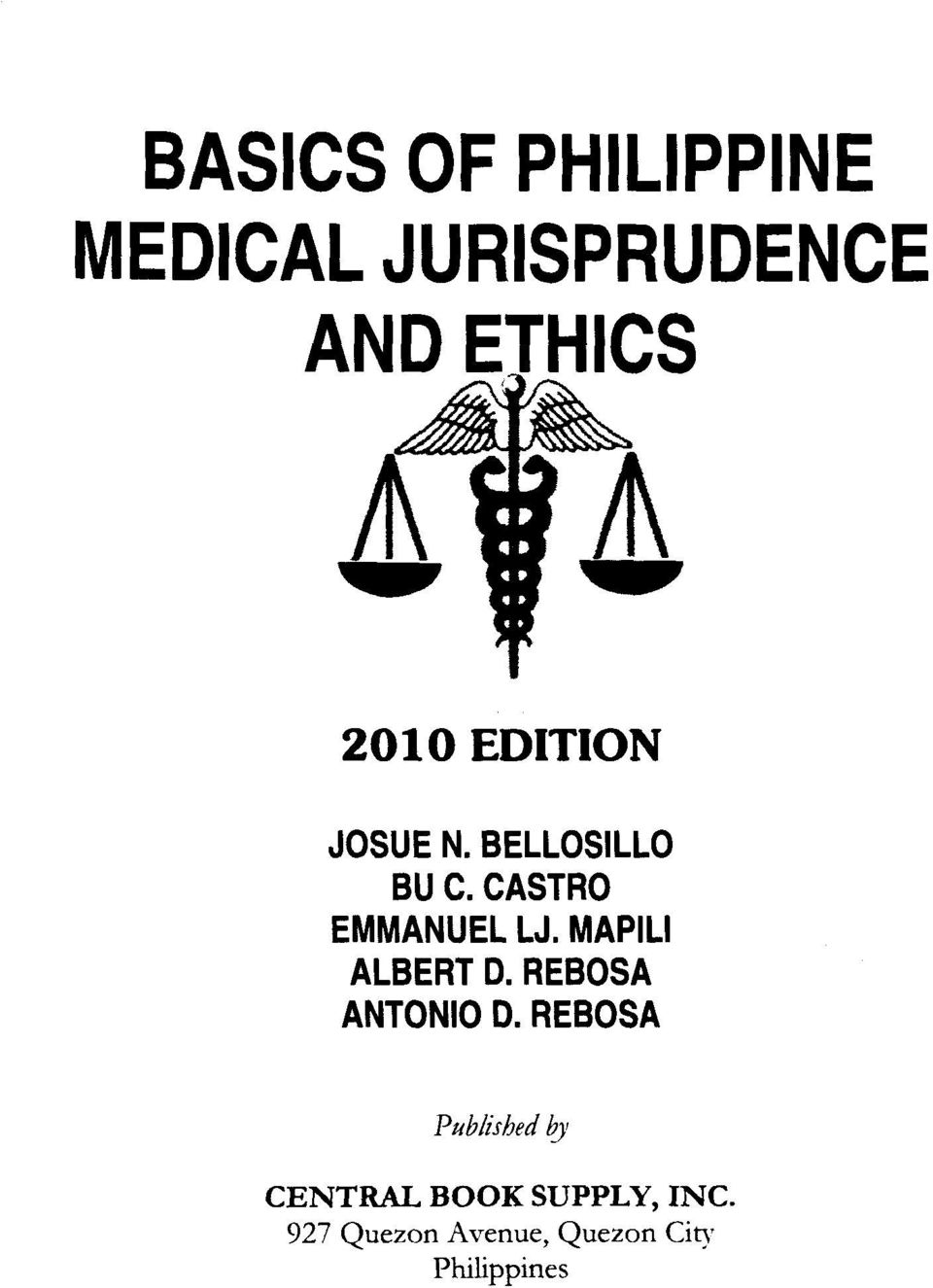 Basics of philippine medical jurisprudence and ethics pdf transcription fandeluxe Gallery
