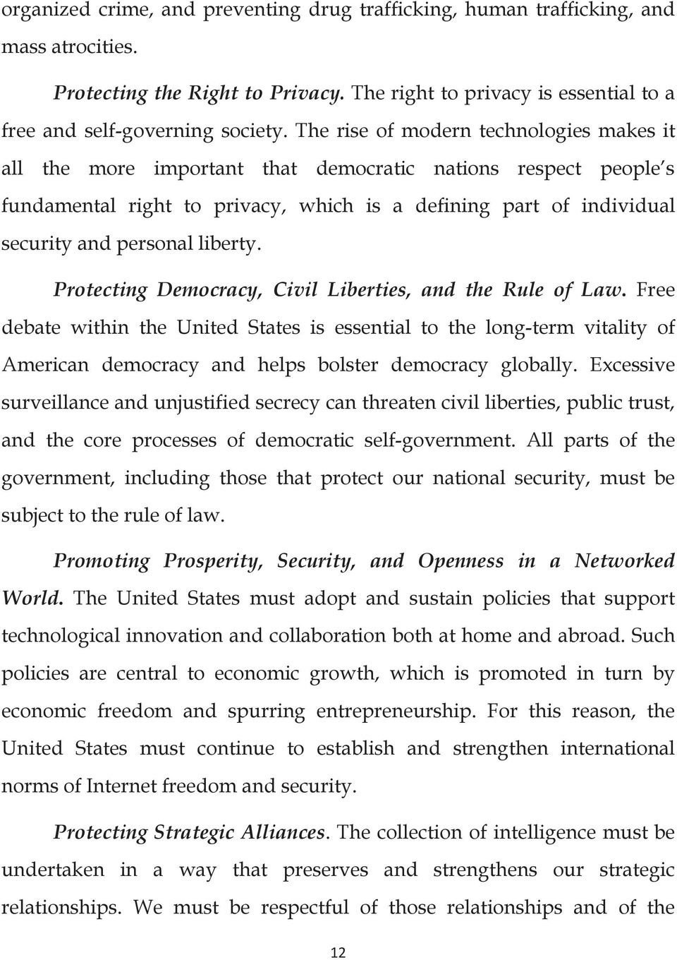 liberty. Protecting Democracy, Civil Liberties, and the Rule of Law.