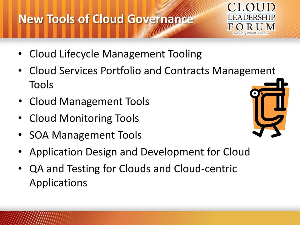 Tools Monitoring Tools SOA Management Tools Application