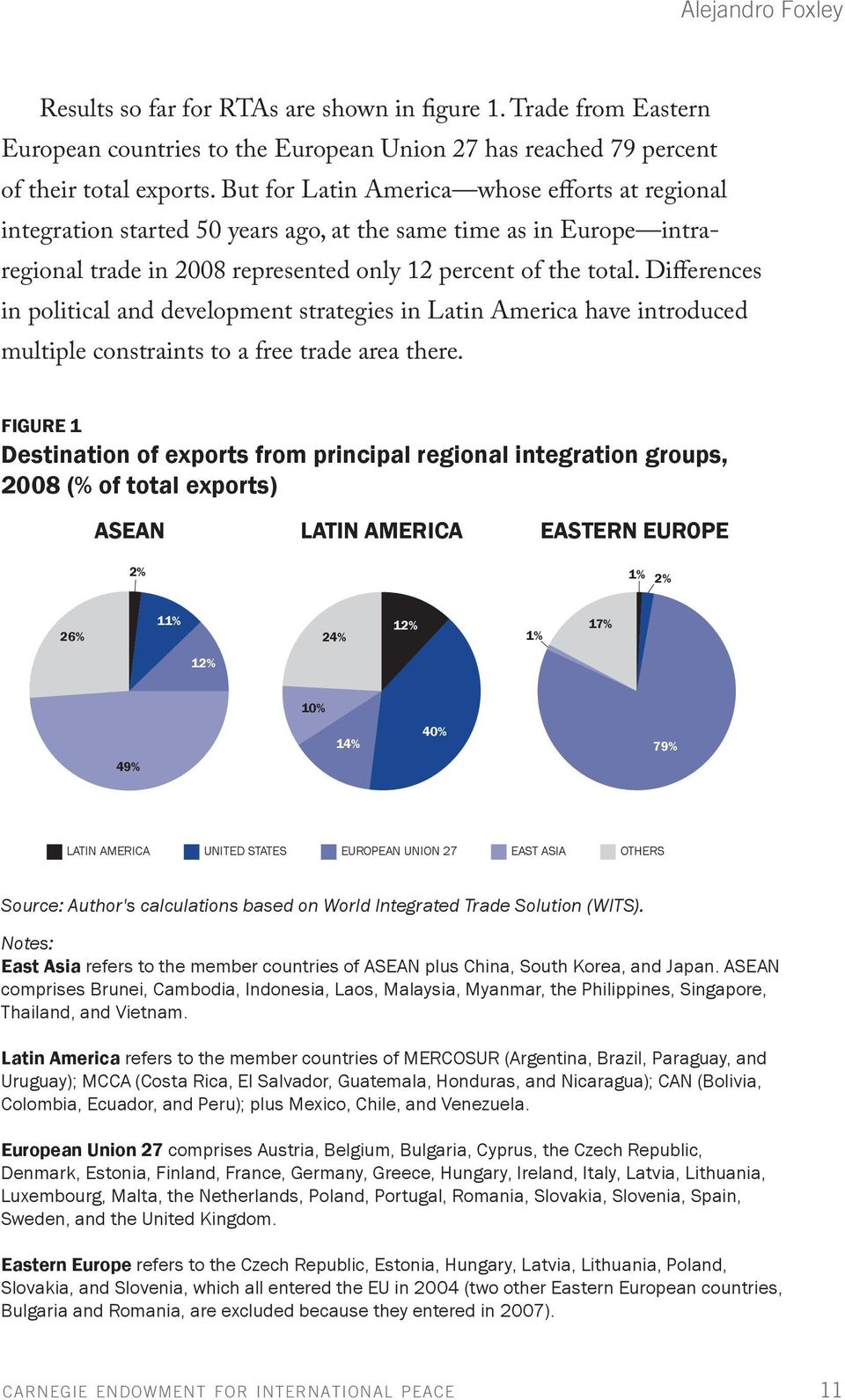 Differences in political and development strategies in Latin America have introduced multiple constraints to a free trade area there.