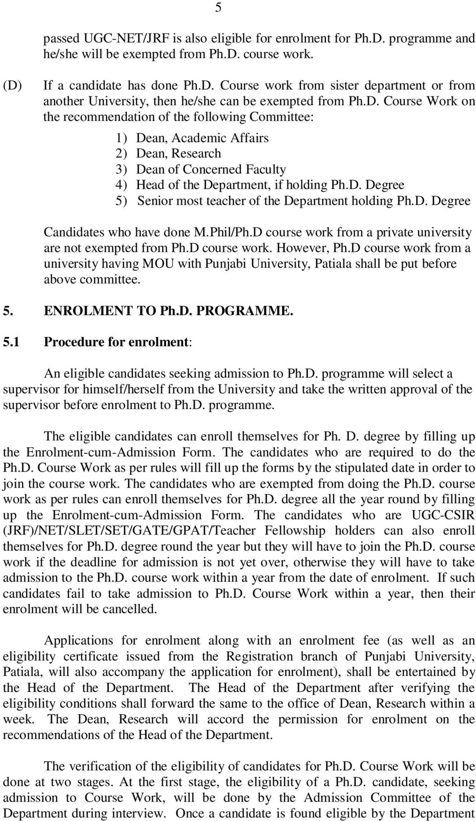 M.Phil Dissertations In English