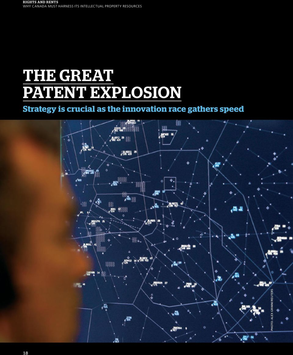 patent explosion Strategy is crucial as the