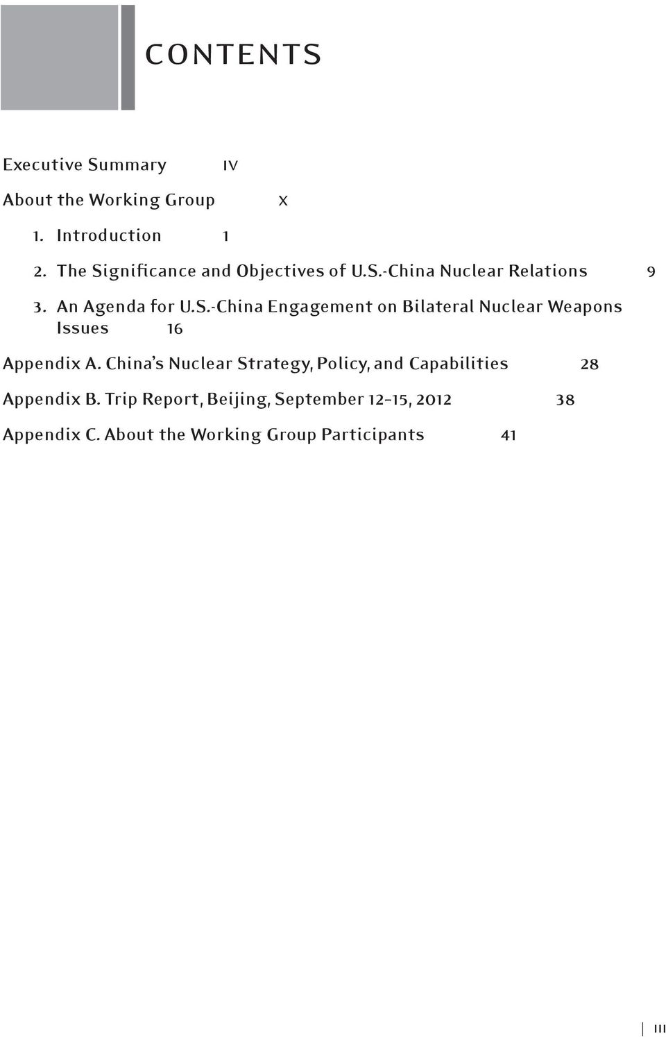 China s Nuclear Strategy, Policy, and Capabilities 28 Appendix B.
