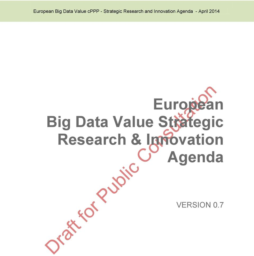 Data Value Strategic Research