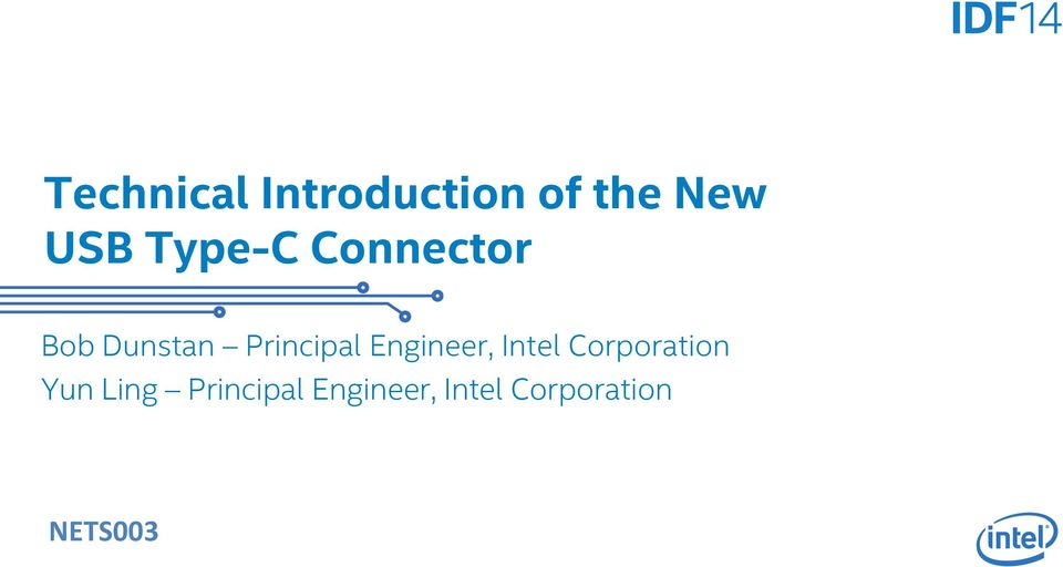 Engineer, Intel Corporation Yun Ling