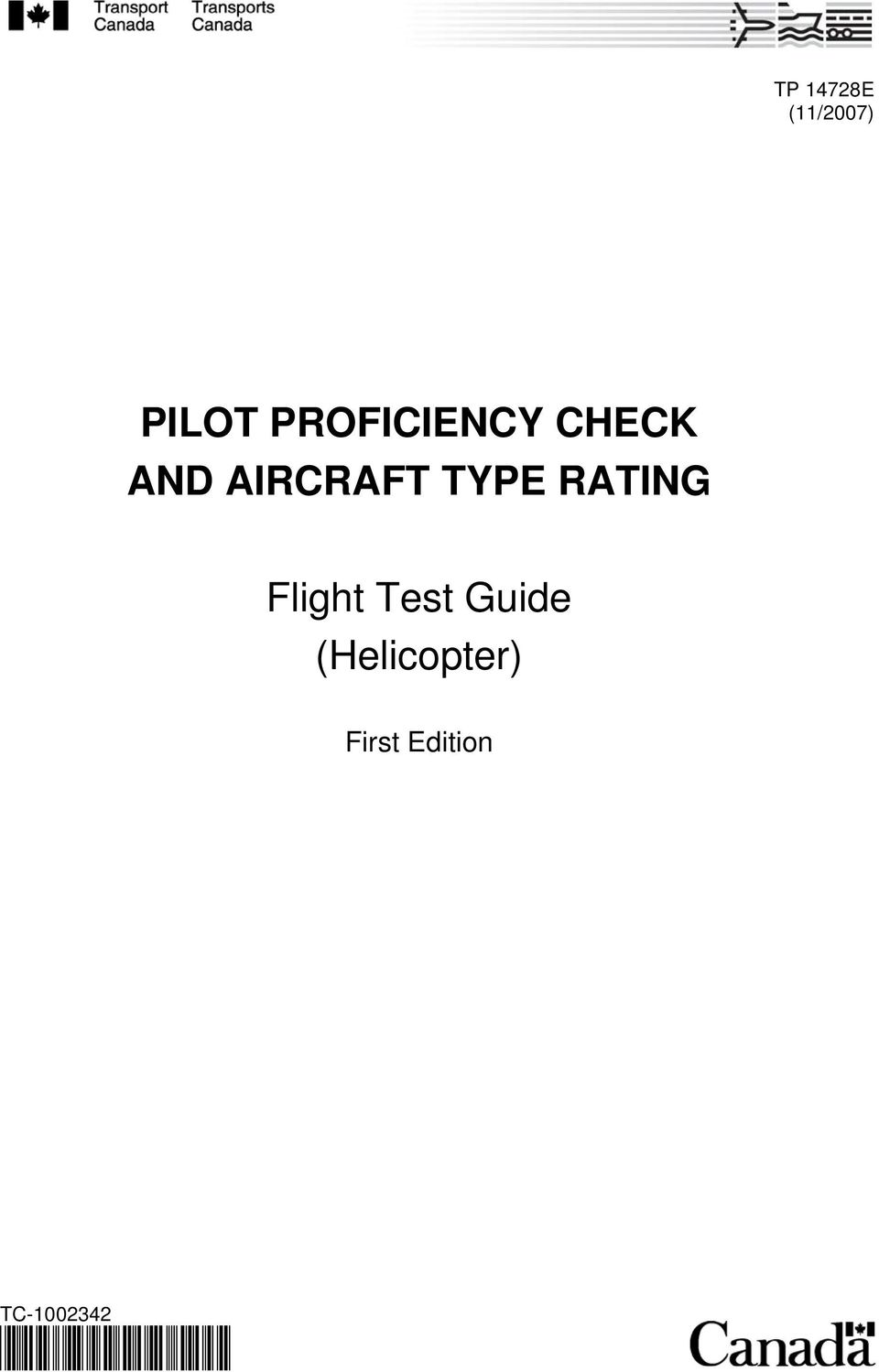 TYPE RATING Flight Test Guide