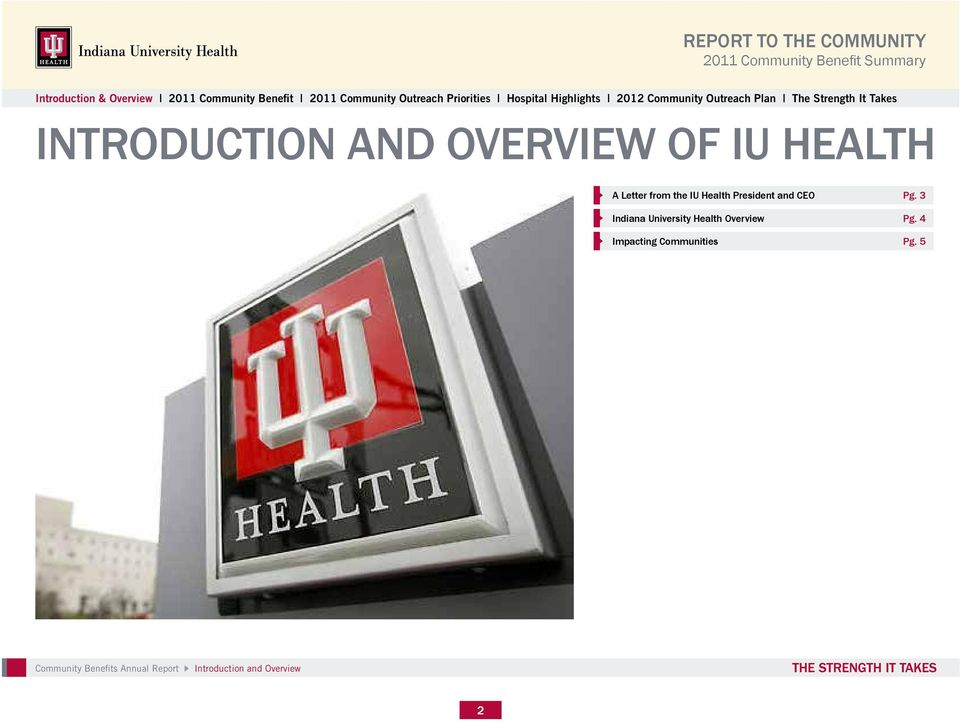 3 Indiana University Health Overview Pg.
