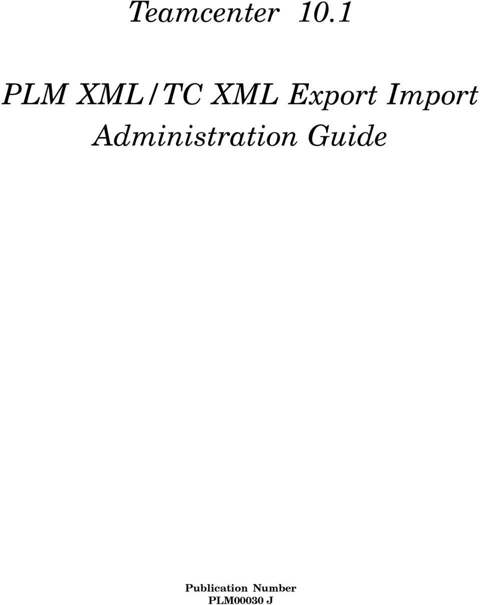 Import Administration