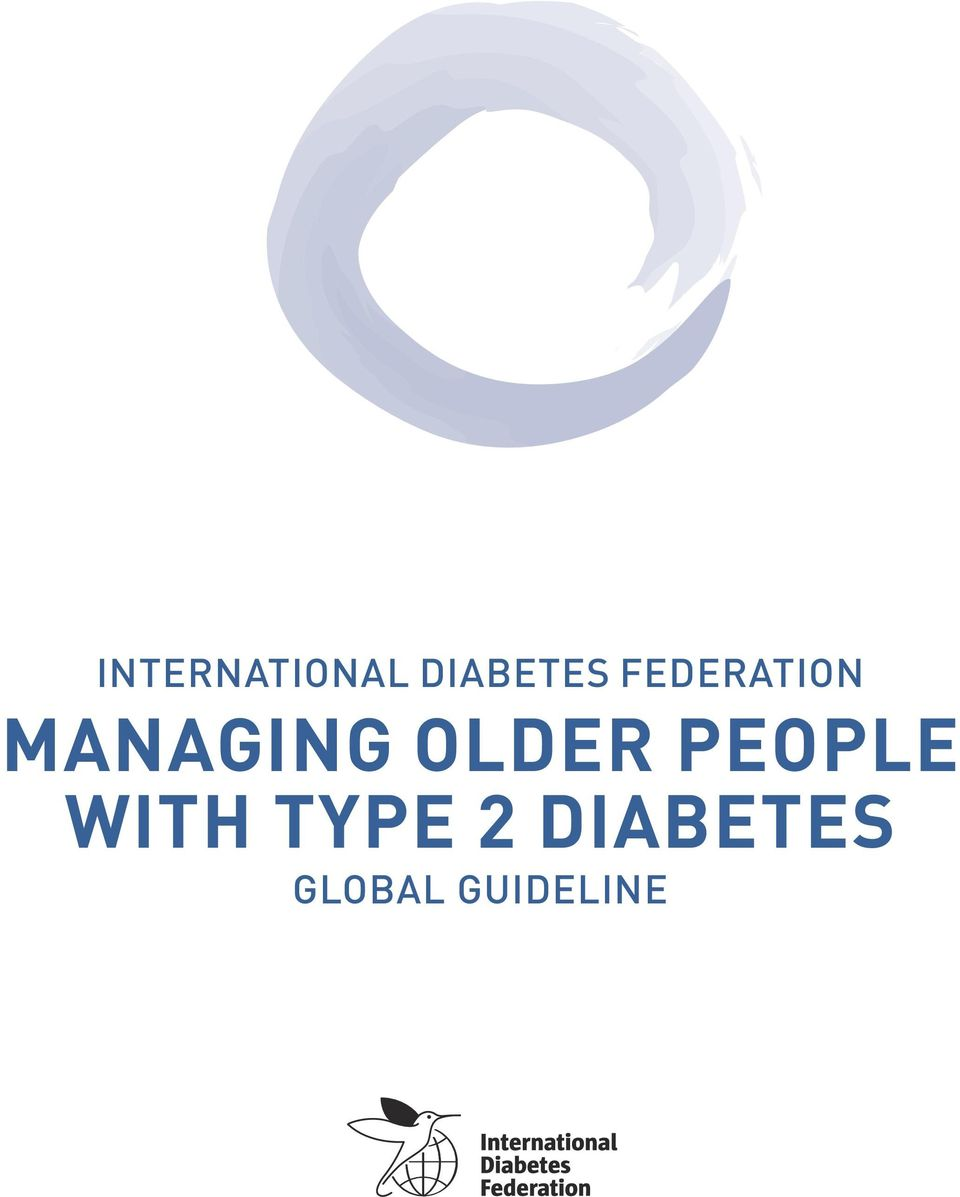 OLDER PEOPLE WITH TYPE
