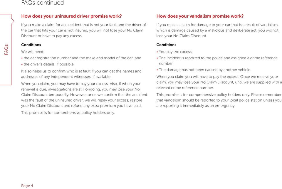 Direct Line Car Insurance Policy Booklet Pdf
