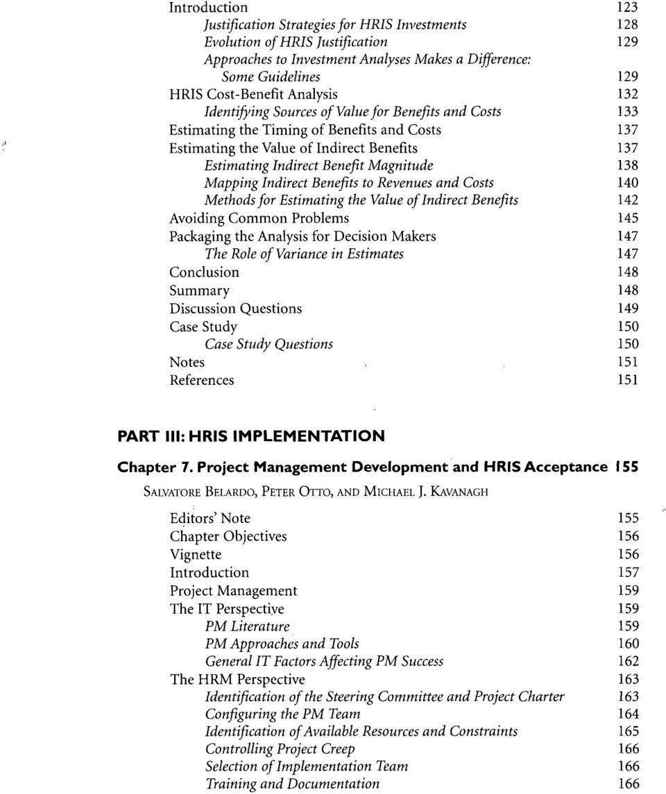 Human Resource Information Systems Pdf