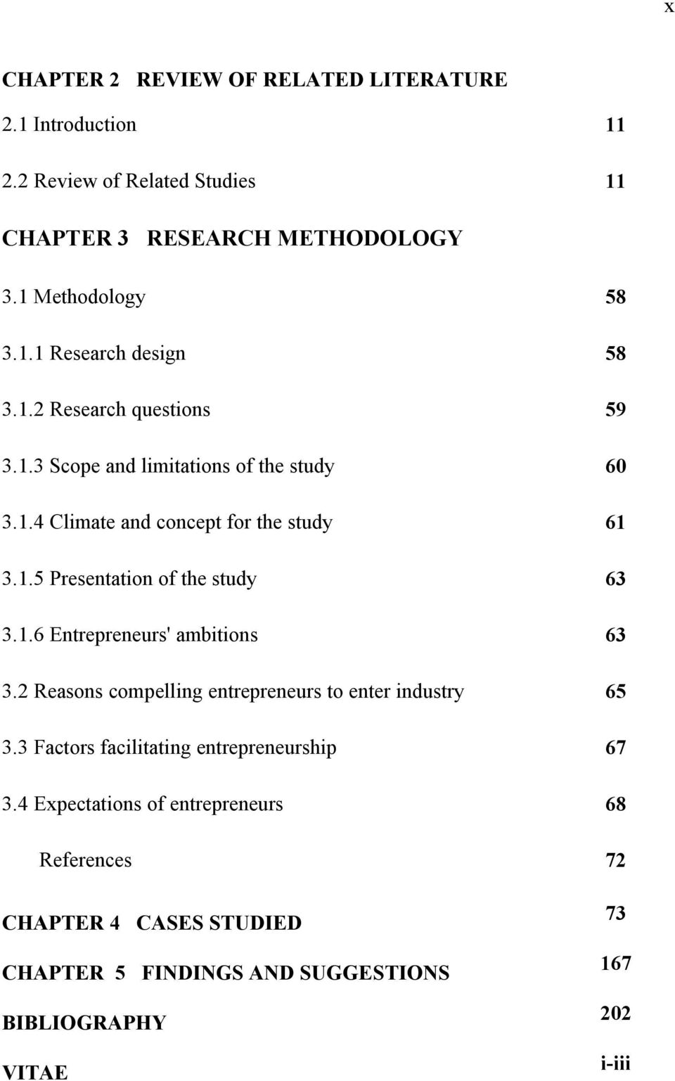 Women business thesis paper