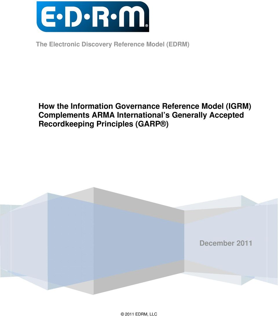 (IGRM) Complements ARMA International s Generally