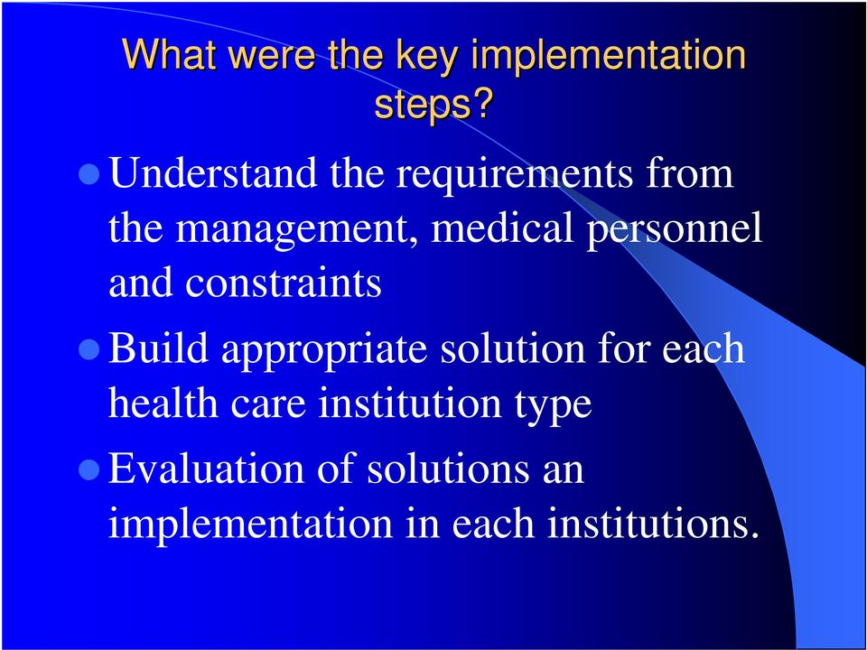 evaluation of health care systems According to systems theory, patient safety and quality of healthcare is an emergent property of the entire healthcare system , it follows that the improvement of health care outcomes needs to be based in a systematic appreciation of the whole system that contributes to those outcomes yet the research literature currently lacks an appropriate.