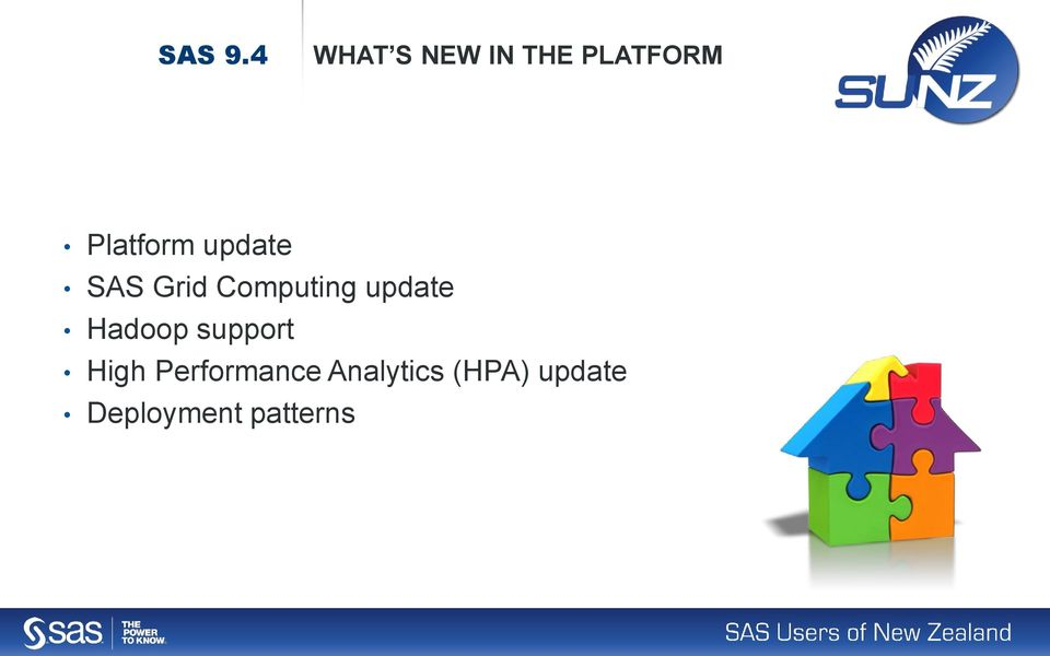 update SAS Grid Computing update