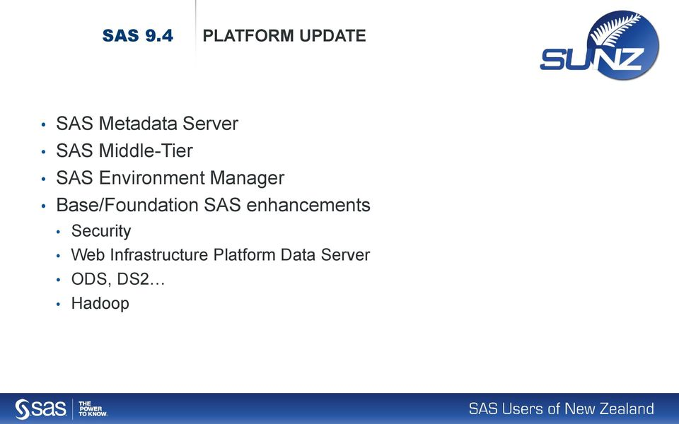 Middle-Tier SAS Environment Manager