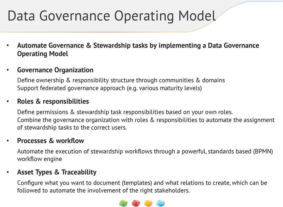 data management roles and responsibilities guidelines