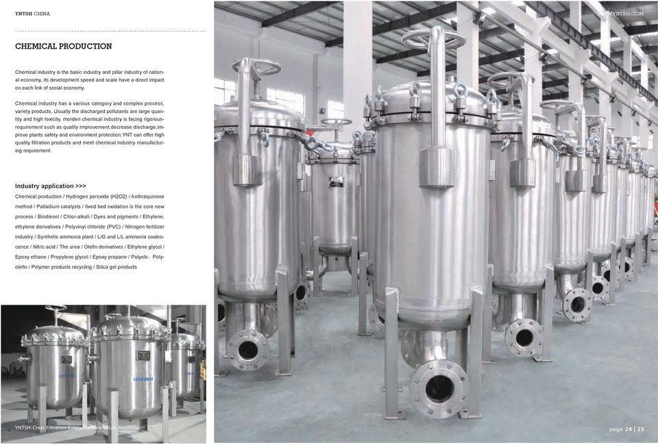 morden chemical industry is facing rigorousrequirement such as quality improvement,decrease discharge,improve plants safety and environment protection.