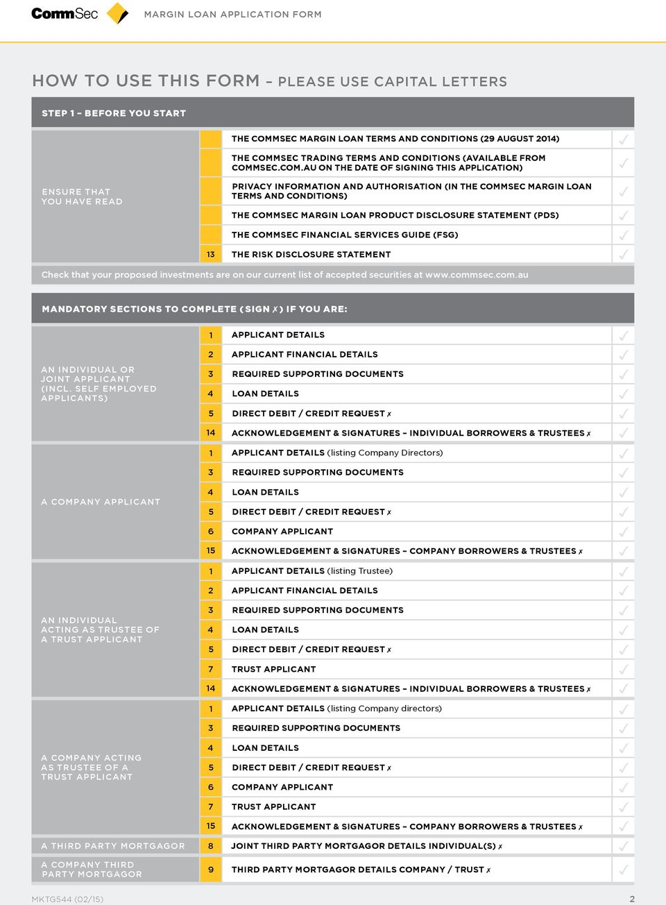 DISCLOSURE MENT (PDS) THE COMMSEC FINANCIAL SERVICES GUIDE (FSG) 13 THE RISK DISCLOSURE MENT Check that your proposed investments are on our current list of accepted securities at www.comm