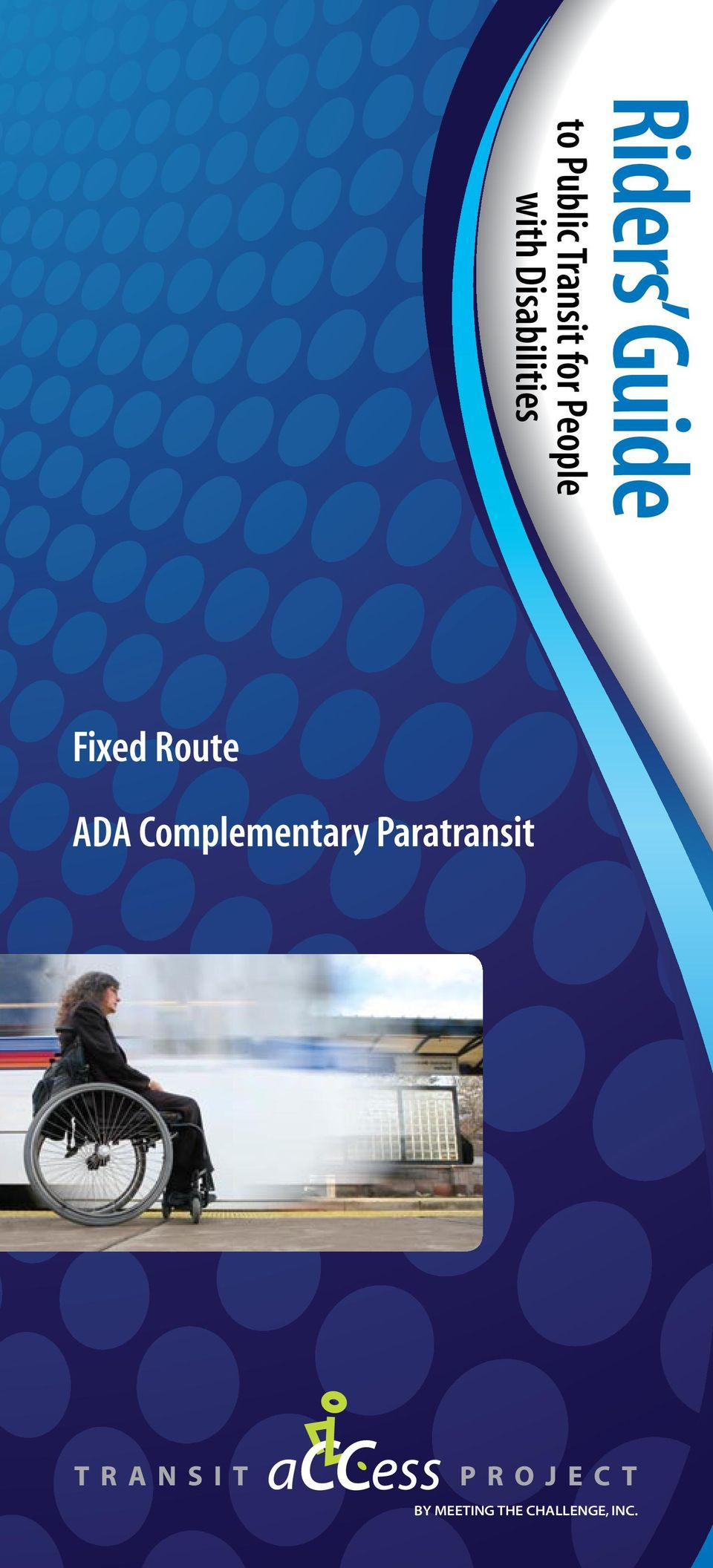 Fixed Route ADA Complementary