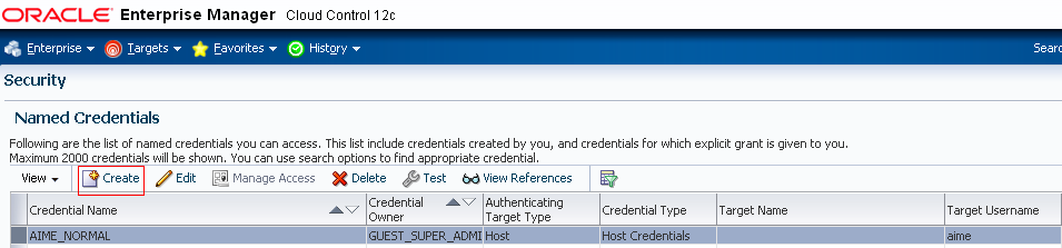 Figure 9: Navigation Details for Named Credentials 2.