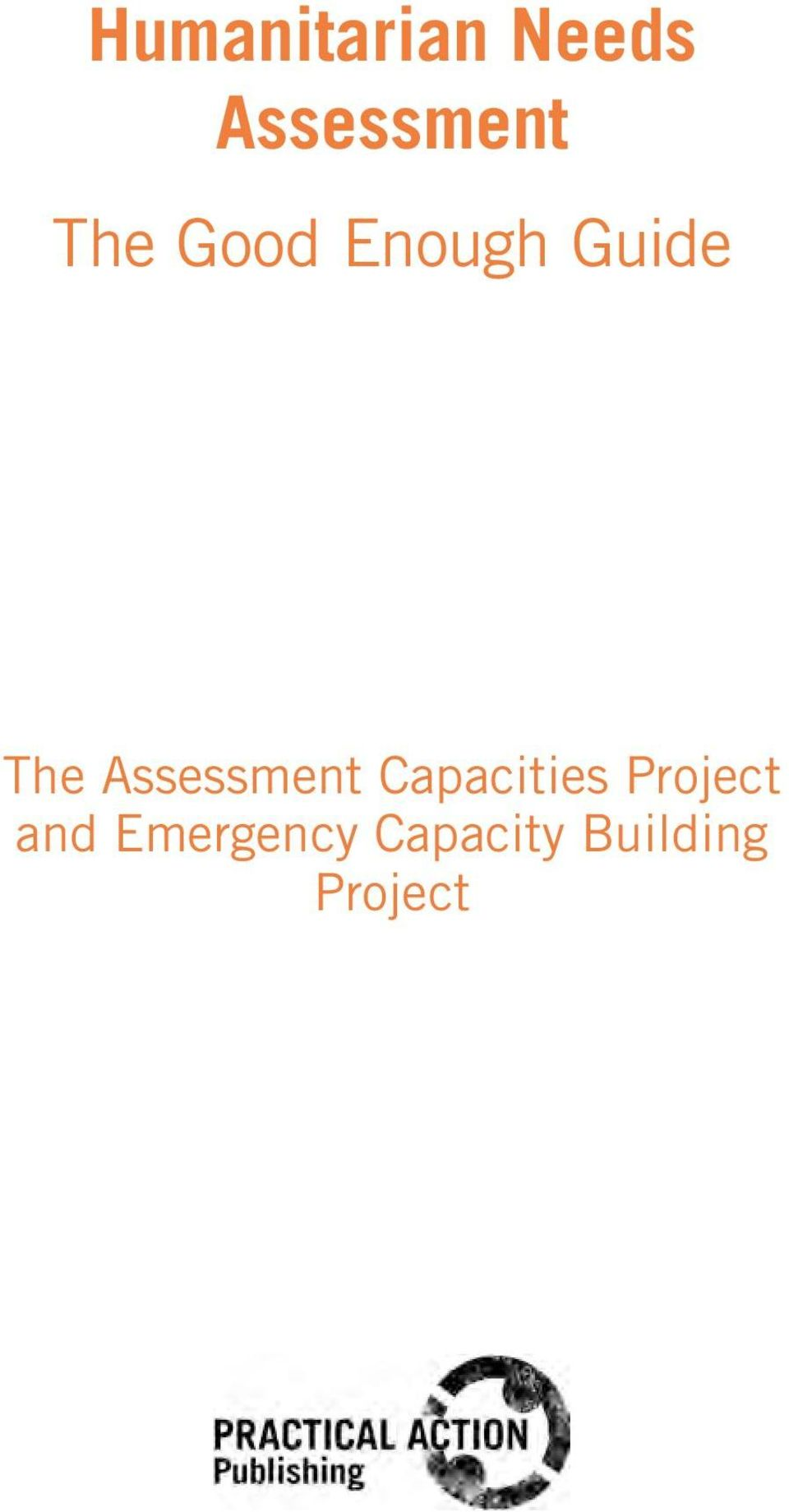 Assessment Capacities Project