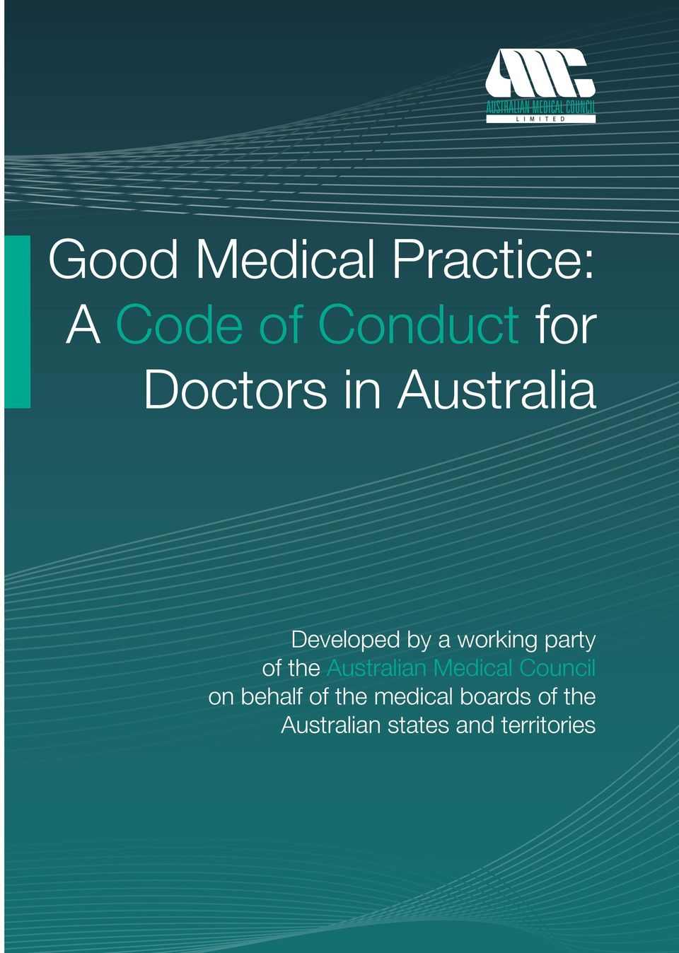 of the Australian Medical Council on behalf of the