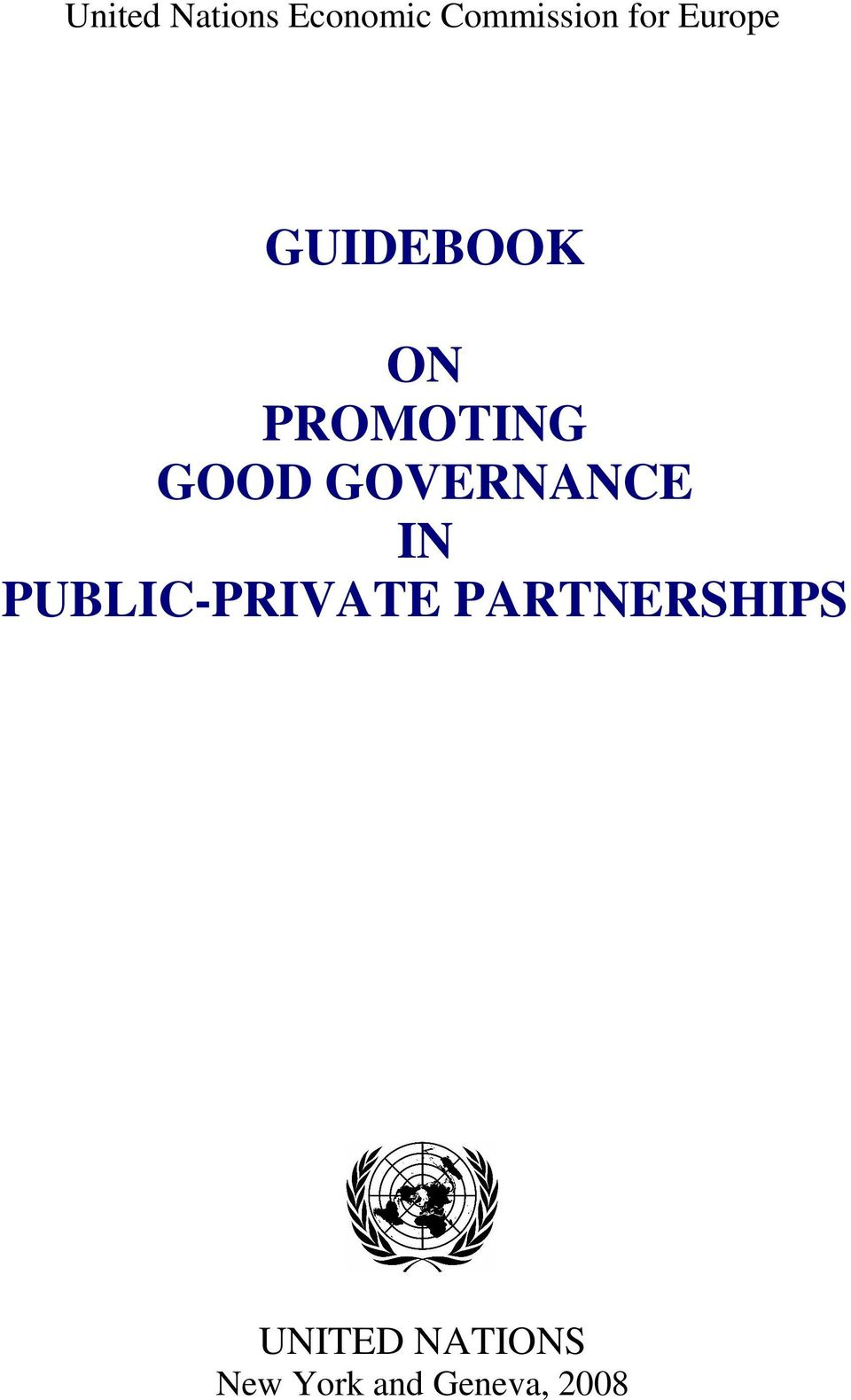 GOVERNANCE IN PUBLIC-PRIVATE