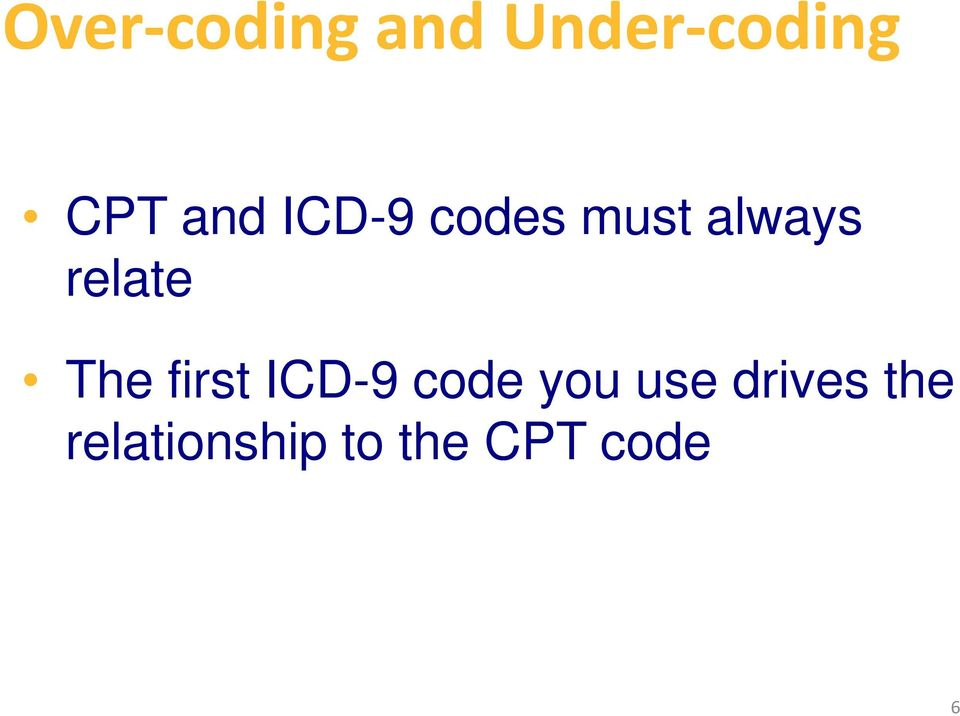 relationship between icd and cpt codes