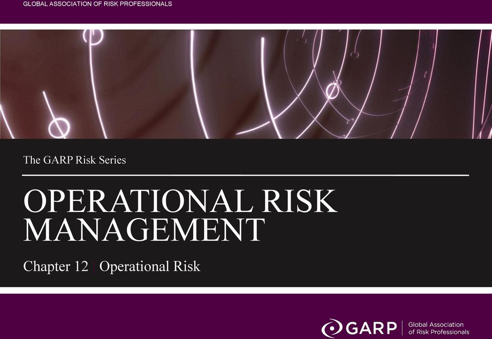 Series OPERATIONAL RISK
