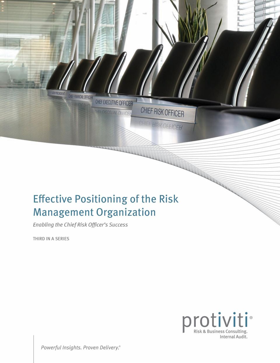 Enabling the Chief Risk