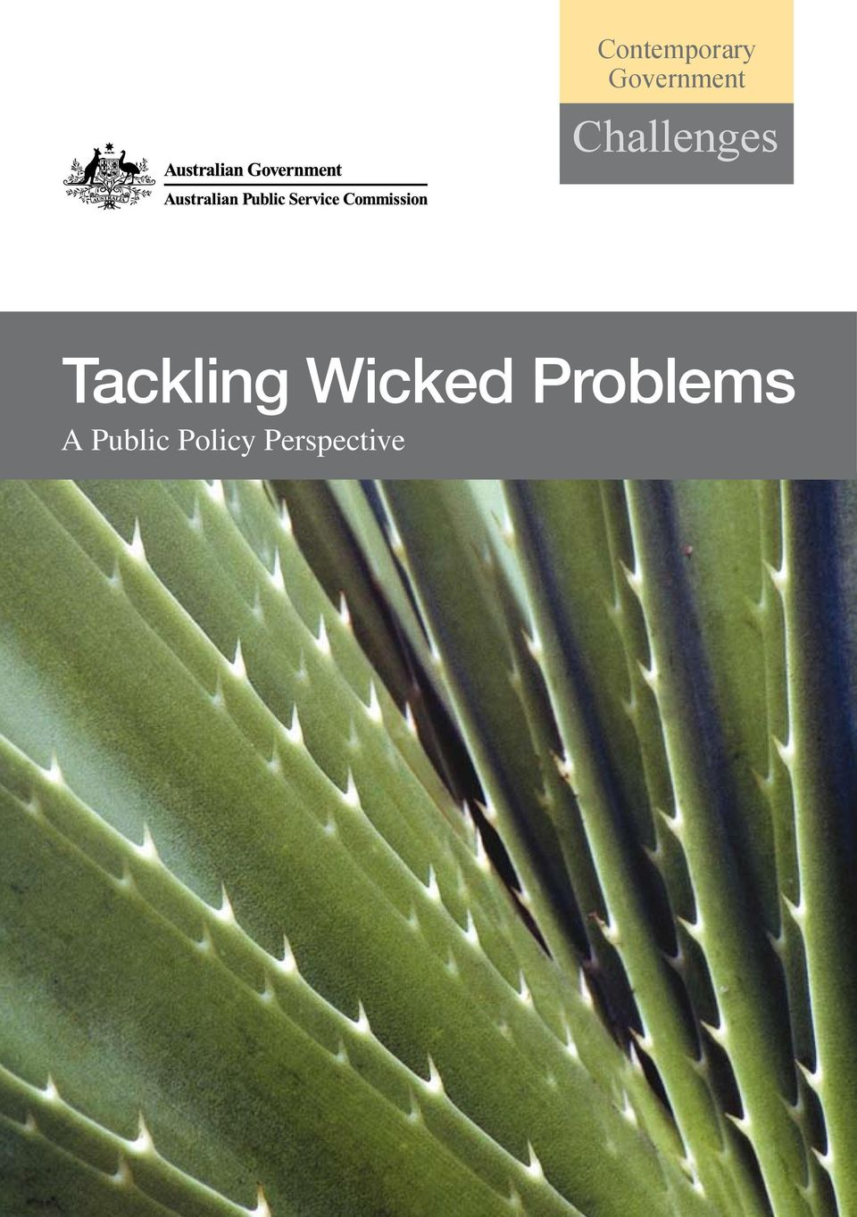 Tackling Wicked