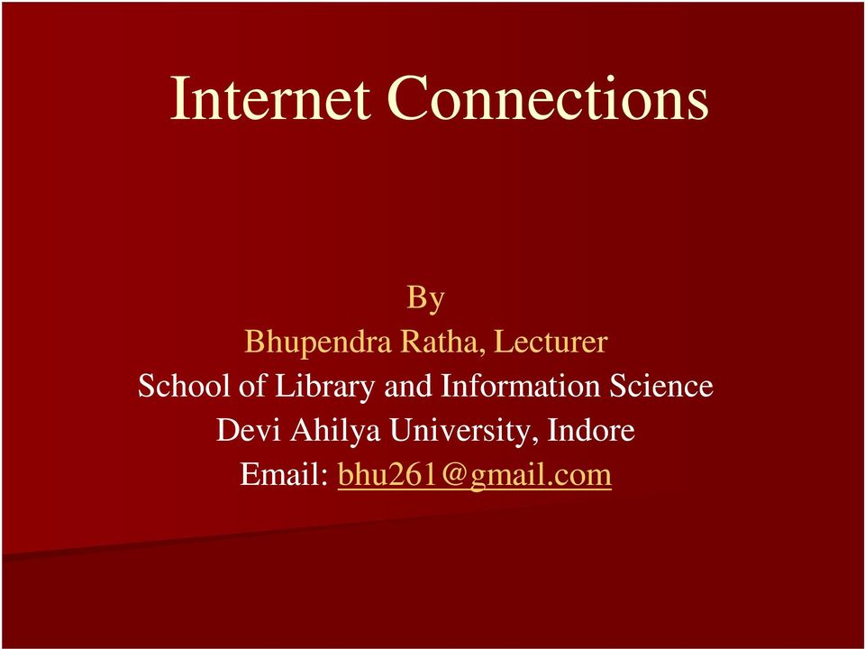 and Information Science Devi Ahilya