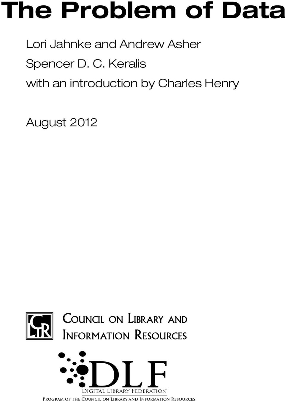 Council on Library and Information Resources Digital Library