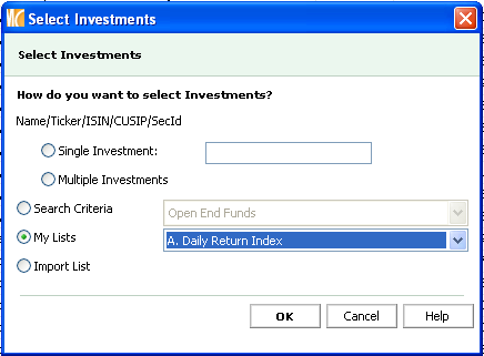 19. As you continue to build your investment list, the total number of members will be reflected on the bottom left-hand corner in your grid view. Merge an Existing List to New Investment List 1.