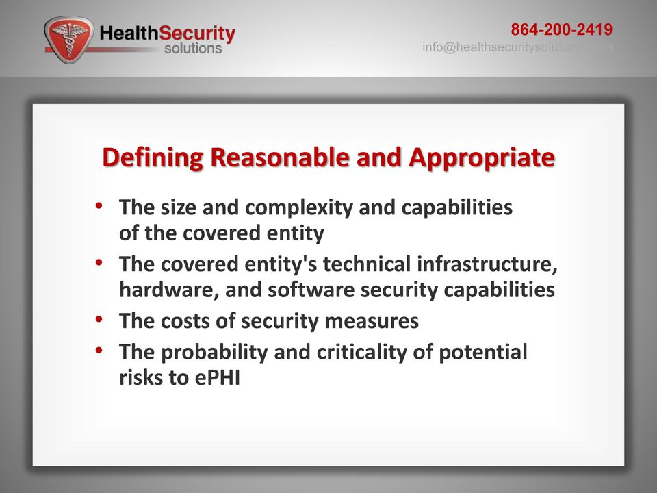 infrastructure, hardware, and software security capabilities The