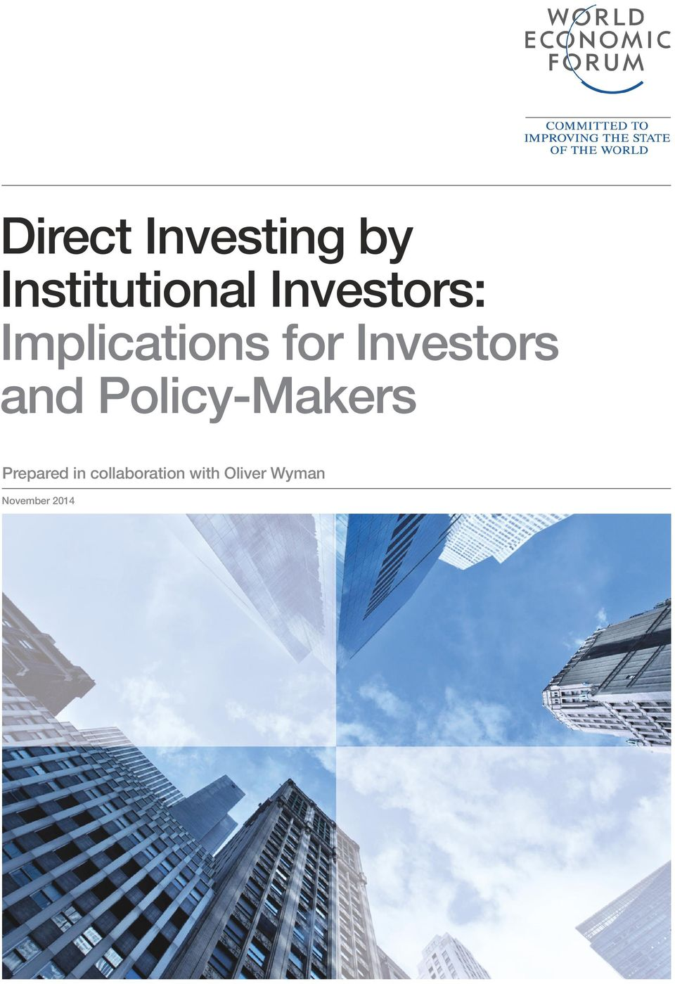 Investors and Policy-Makers Prepared