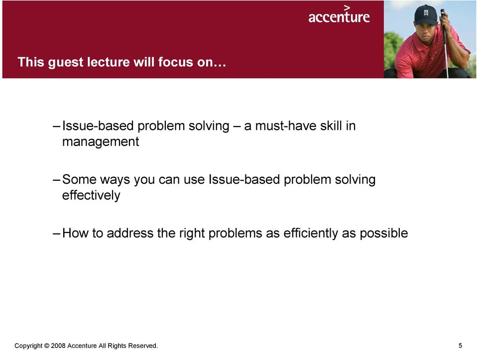 problem solving effectively How to address the right problems as