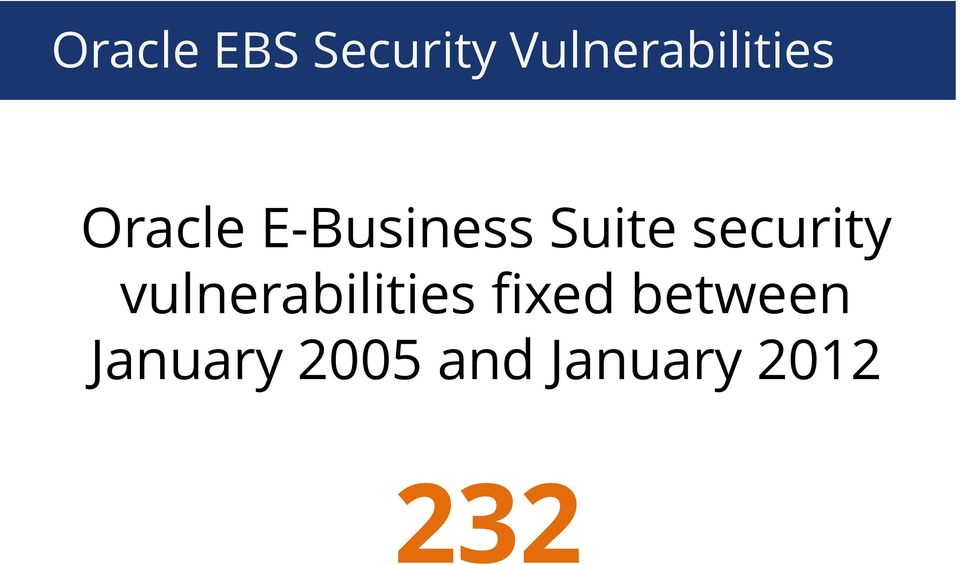E-Business Suite security