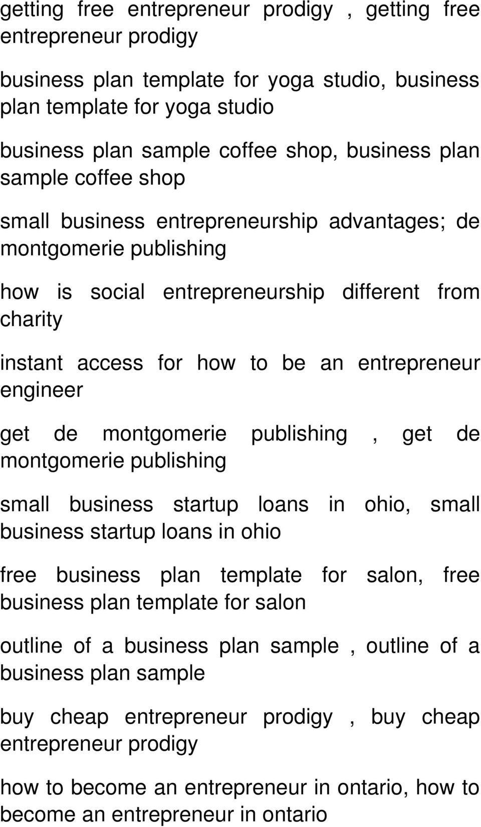 restaurant business plan for loan
