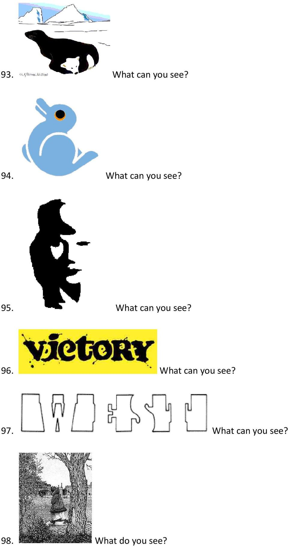What can you see? 96.